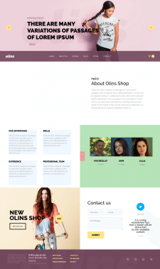 Сайт команды (компании) креативных людей