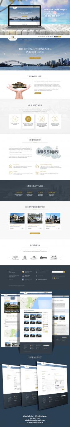 Дизайн сайта SMART VALUE + личный кабинет