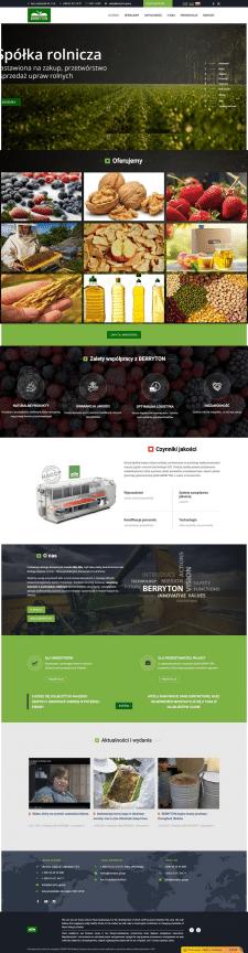 Наполнение контентом сайта компании на 2 языках