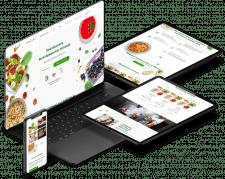 Таргет для сервиса по доставке здоровой еды