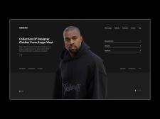 Магазин одежды Nike,Adidas,Rebook | Концепт сайта