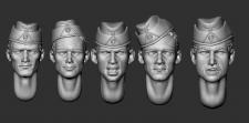 Набор голов для моделизма