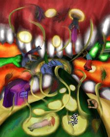 Детализированная иллюстрация
