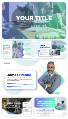 Пример бизнес-презентации