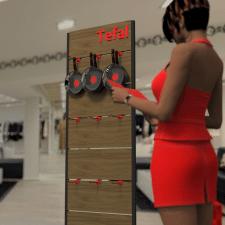 Моделирование мебели для магазинов