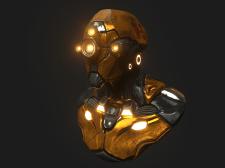 Sci-fi Robot (SNA-25)