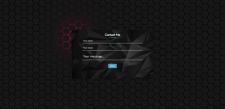 Параллакс Контактная карта HTML, CSS3, JS