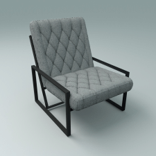 Кресло в стиле лофт 1