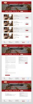 Сайт для отеля VISAK (бронирование номера)