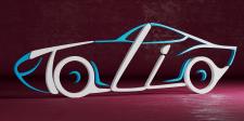 Рендер логотипа для СТО