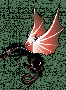 Векторная графика. дракон для 2D игры