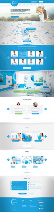 Дизайн сайта Moniki