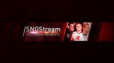 Оформление канала Youtube SNGStream