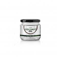 Дизайн этикетки для кокосового масла. Минимализм