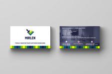 """Візитка """"Mirlen"""""""