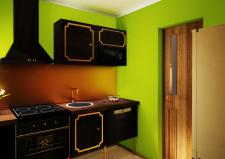 Кухня вид 1