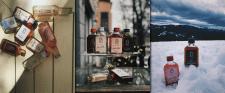 Серия этикеток для напитков