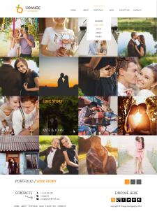 Orange portfolio