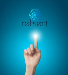 """Логотип IT компании """"Relisent"""""""