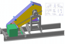 Кожух (клиноременная передача вентилятора)-3D+Черт