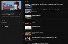Монтаж видео для YouTube (плейлист)