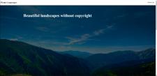 Сайт пейзажей
