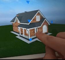 3D BIM интерактивная модель дома с чертежами