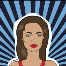 Pop-Art Анджелина Джоли