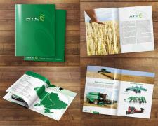 Буклет для выставки сельхоз. техники в Ганновере