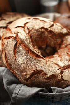 Съемка хлеба