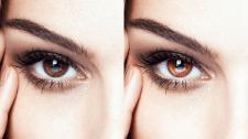 Добавляем контрасности и яркости глазам
