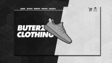 Дизайн сайта buterz clothing