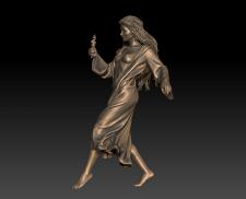 3д-скульптура зловредного духа  Марухи