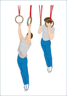 упражнениена кольцах