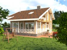 Екстерьер, загородный дом