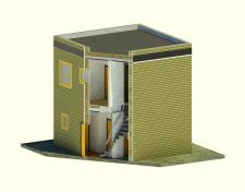 Простая визуализация домика