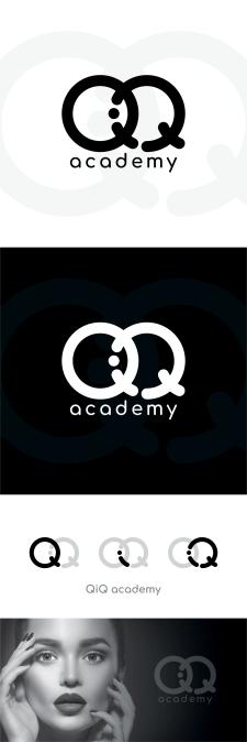 Логотип для Академии Красоты (QiQ)