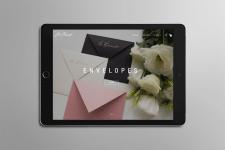 Сайт для бутика Le Carnet