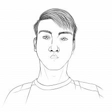 Контурный портрет