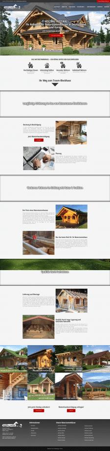 Сайт для немецкой строительной компании
