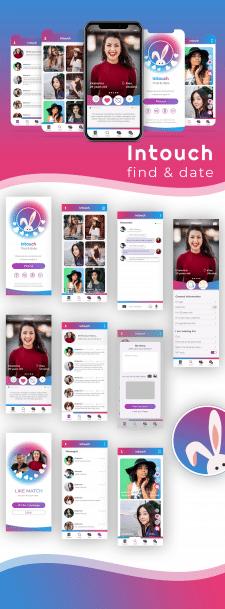 Дизайн приложения для знакомств