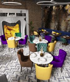Дизайн проект ресторана