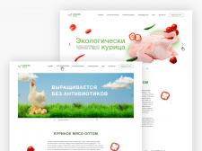 Баннеры для сайта по продаже куриного мяса