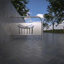 Design and visualization of bicycle parking