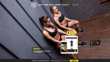 Landing page для приложения FAS-Workout