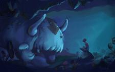 Аппа в пещере