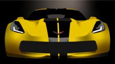 Corvette в векторі