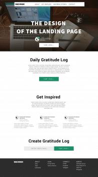 Дизайн Простого одностраничного сайта.