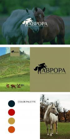 Логотип для конного клуба и фирменный стиль