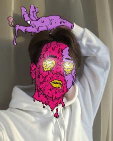 Grime art Boy